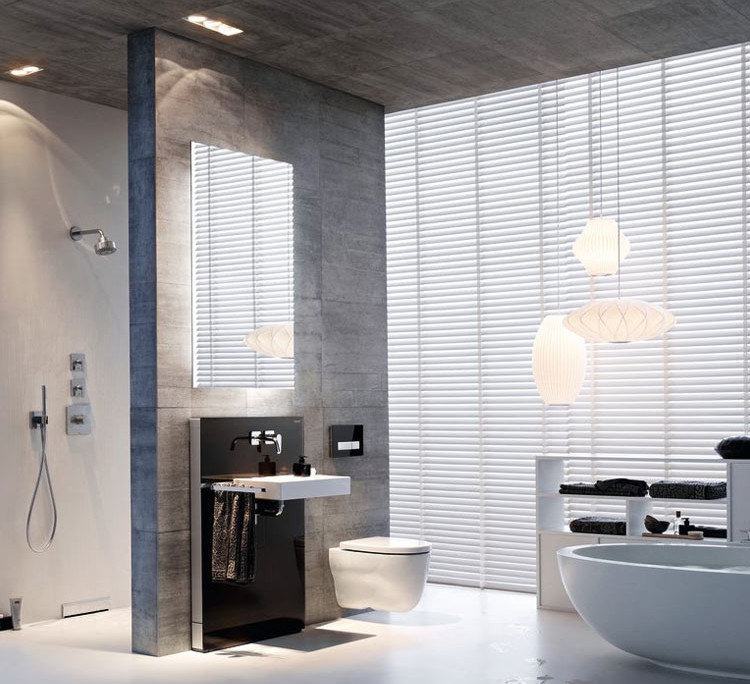 GEBERIT Badezimmer Monolith washbasin with Sigma