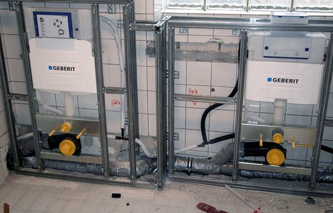 Haustechnik h knapmeier gmbh bielefeld for Geberit system