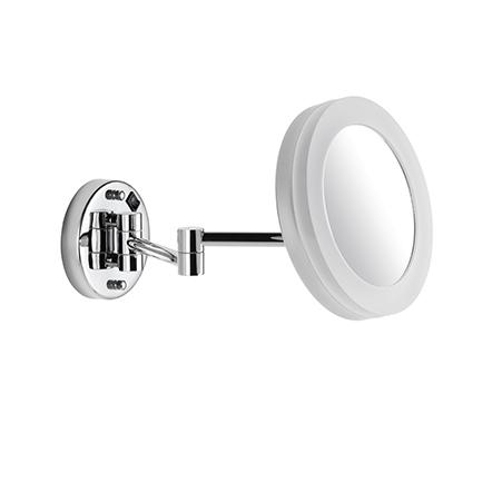 LED Kosmetikspiegel 5 fache Vergrößerung Wandmodell mit Direktanschluß 9505101010