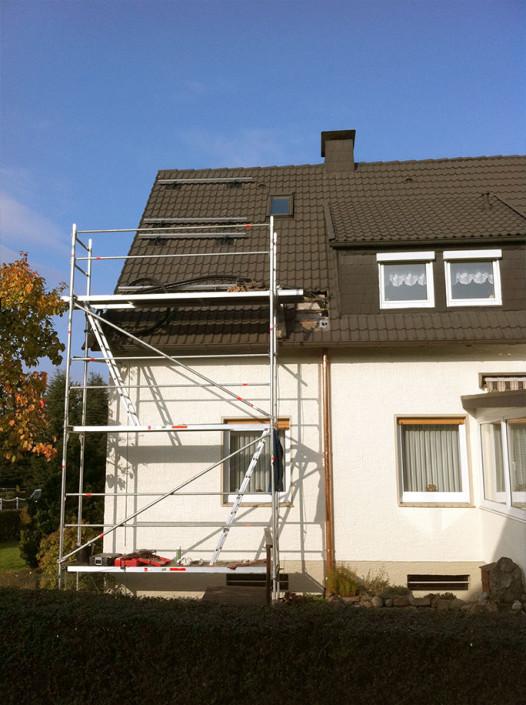 Solartechnik Montage 3