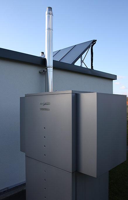 Wärmepumpe Aussenaufgestellt Solarkollektor
