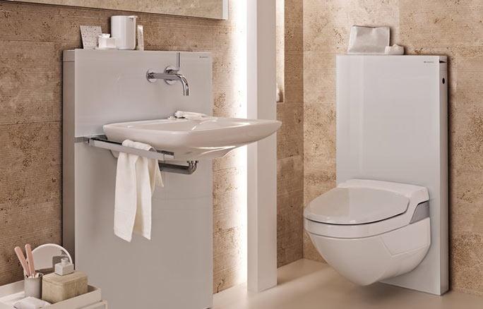 GEBERIT Monolith System mit Dusch WC